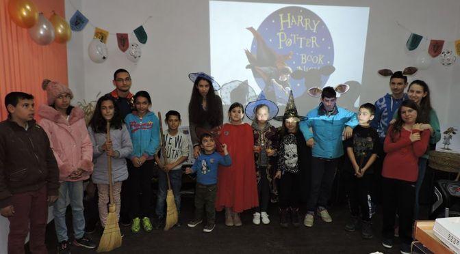 Нощ на книгите за Хари Потър се проведе за първи път в библиотеката на Столетово