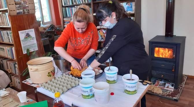 На Велики четвъртък: трескава подготовка за дарителската кампания на столетовци (СНИМКИ)