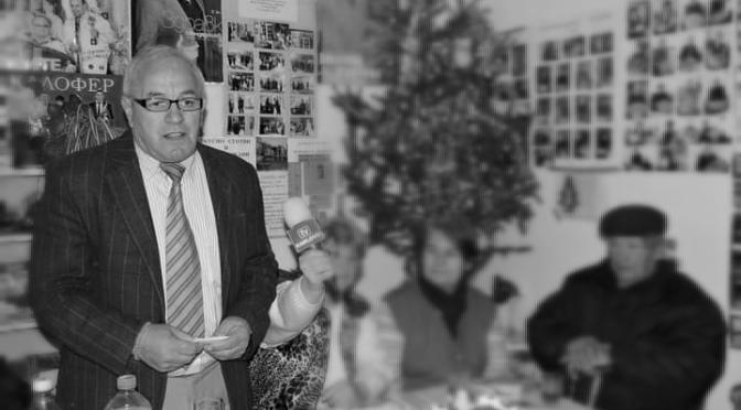 Почина бившият дългогодишен кмет на Столетово Славчо Тодоров