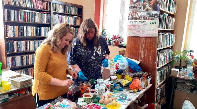 60 души от Столетово получават великденски пакети в навечерието на празника